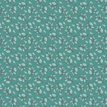 Cherished Moments Berry Branches Teal