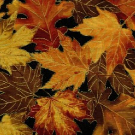 Black Leaves w/Metallic