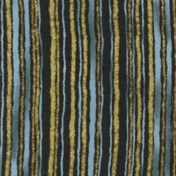 *Blue Stripes w/Metallic