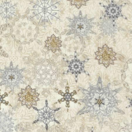 Natural Snowflakes w/Metallic