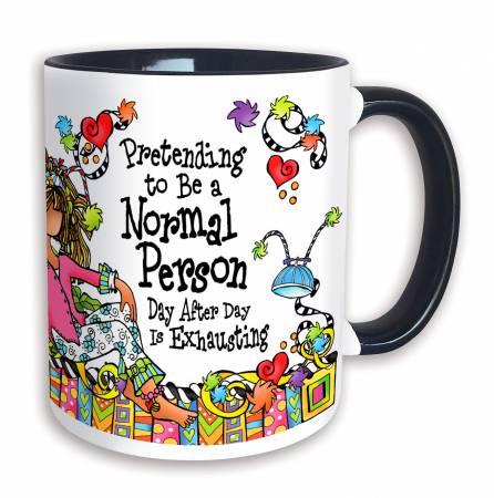 Mug Pretending to be a Normal Person 11oz