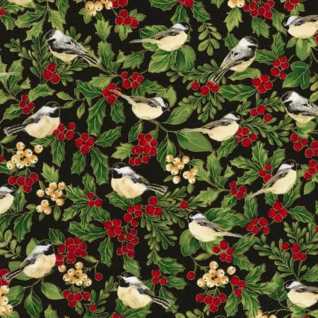 Black Birds & Berries w/Metallic