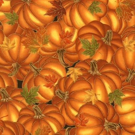 Pumpkins w/Metallic