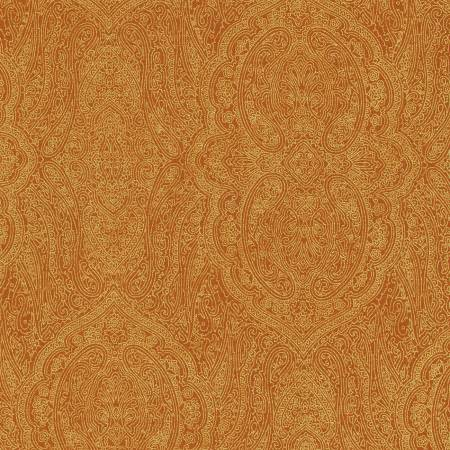 Rust Paisley w/Metallic
