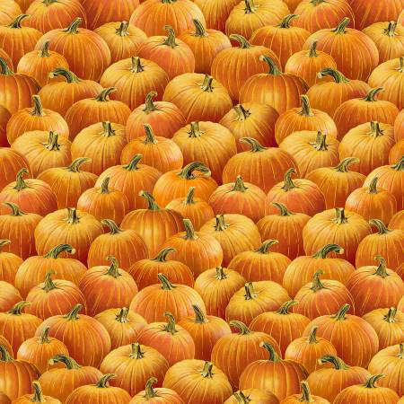 Harvest...Pumpkins - Fat Quarter