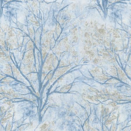White Bare Trees w/Metallic