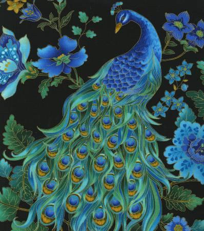 Plume - Black Peacock Metallic