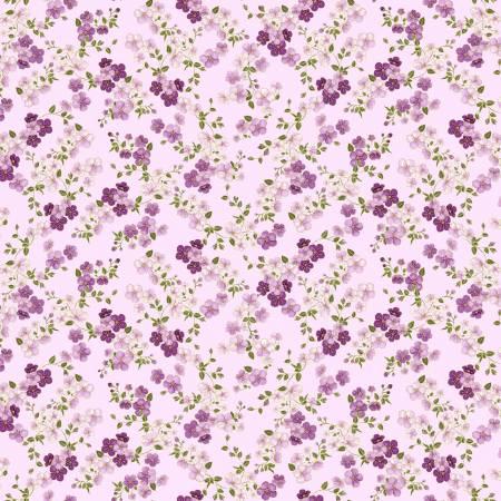 Majestic Lilac Cherry Blossoms