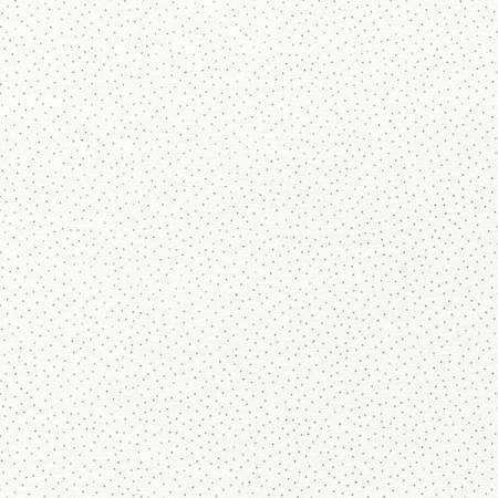 White Dot Metallic CM9528-WHT