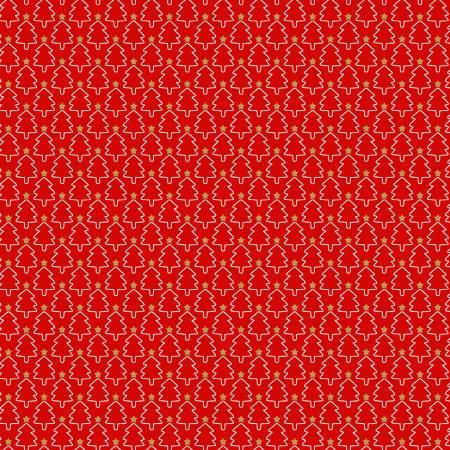 Red Mini Trees w/Metallic