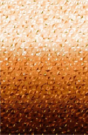 Pumpkin Refractions Ombre w/Gold Metallic CM9712PUMPKIN