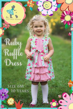 Ruby Ruffle Dress