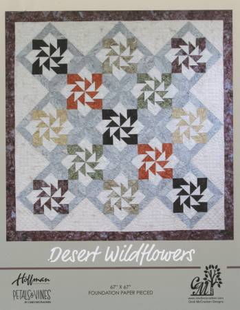 Desert Wildflowers Pattern by Cindi McCracken+