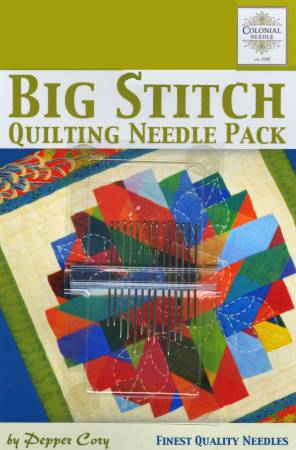 Big Stitch Quilting Needle Pack by Pepper Cory