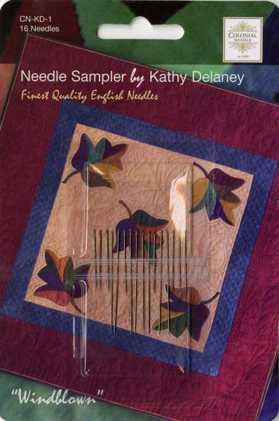 Quilting and Applique Needle Sampler