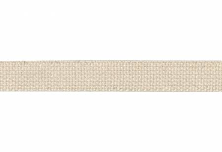 Cotton Webbing  1in Natural 20yds
