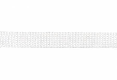 Cotton Webbing  1in White 20yds