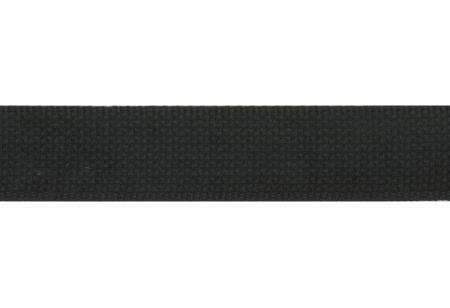 Cotton Webbing  1-1/2in Black