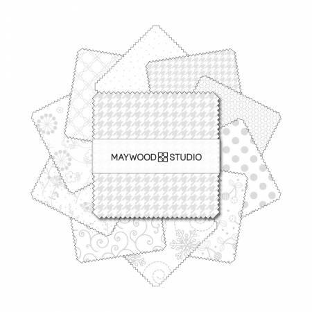 Kim's Picks - Whites 5 Squares 42pc