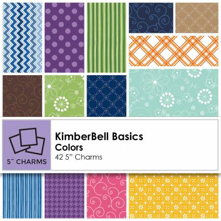 5in Squares Kimberbell Basic Colors 42pcs