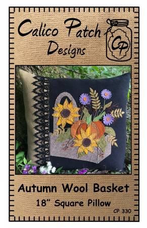 Autumn Wool Basket
