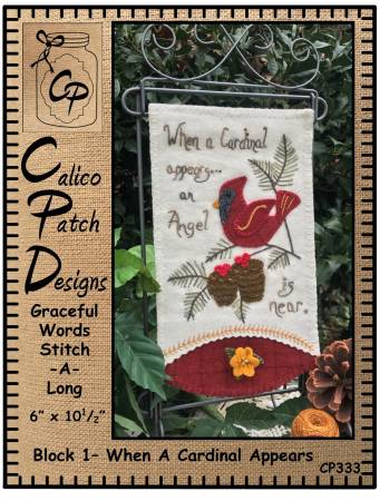 Graceful Words 1: When A Cardinal Appears