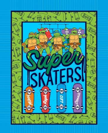 Teenage Mutant Ninja Turtles Super Skate 36in Wide Panel