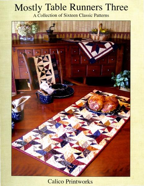 Mostly Table Runners Three Pattern book