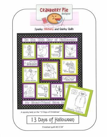 Pattern 13 Days of Halloween