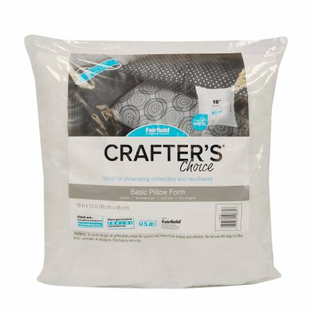 Crafters Choice Square Pillow 18in x 18in