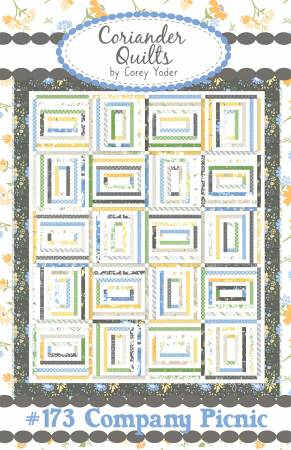 Company Picnic Quilt Pattern by Corey Yoder
