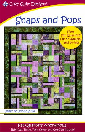 Snaps and Pops quilt pattern by Fat Quarters Anonymous