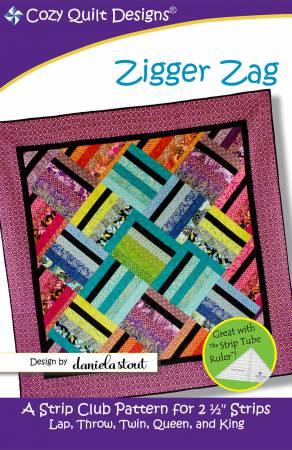 Cozy Quilt Designs - Zigger Zag