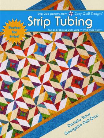 Strip Tubing by Cozy Quilt Designs CQD04006