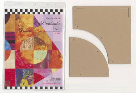 Drunkard's Path 6in Template