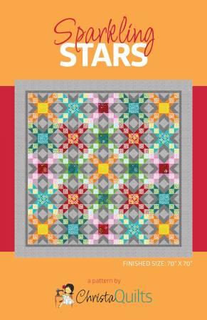 Sparkling Stars Quilt Pattern
