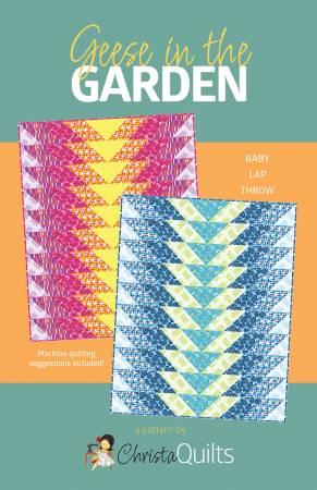 **Geese In The Garden Quilt Pattern
