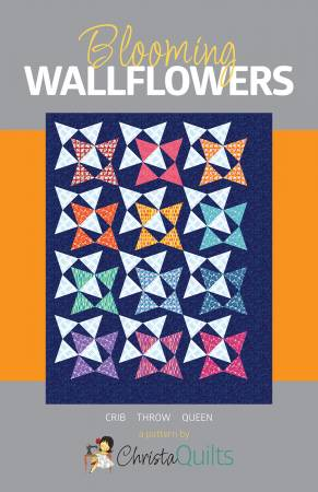 Blooming Wallflowers Quilt Pattern
