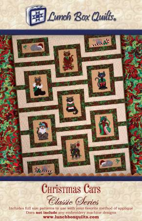 Classic Series Christmas Cats Applique