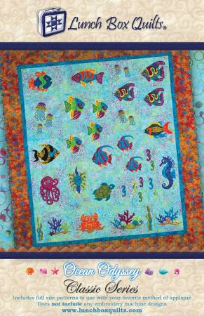 Classic Series Ocean Odyssey Applique Quilt Pattern