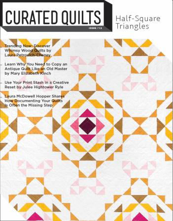 Curated Quilts - Quarterly Journal Issue 12 - CQQJ012
