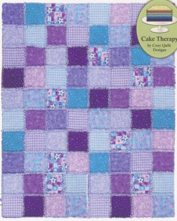 Raggy Layers Quilt Pattern by Cozy Quilt Designs - make a Rag Quilt with 10 squares