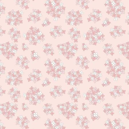 Poppie Cotton Pink Almost Heaven Floral