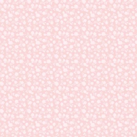Poppie Cotton Pink Misty Floral