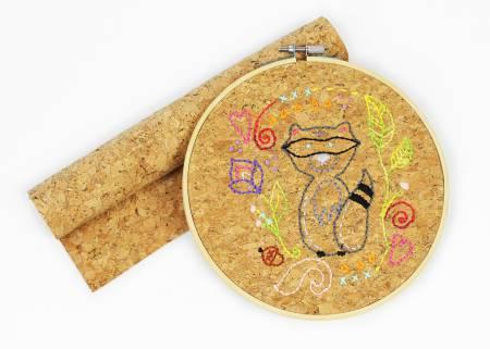 Stitchable Cork Natural Cork Color 10 x 10 - CRK1REG