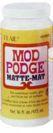 Mod Podge Matte Finish Glue 16oz