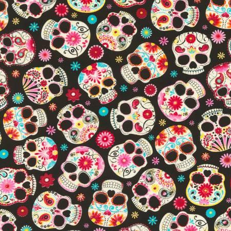 Black Sugar Skulls Knit