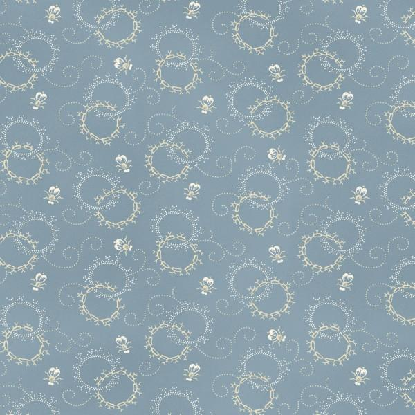 Classic 1800's Shirtings by Sara Morgan Grey Fabric Yardage CSHI912-B