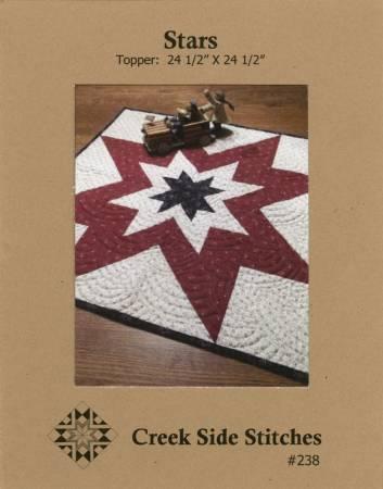 Stars Pattern by Creek Side Stitches