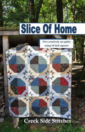 Slice of Home - Softcover Book by Creek Side Stitches